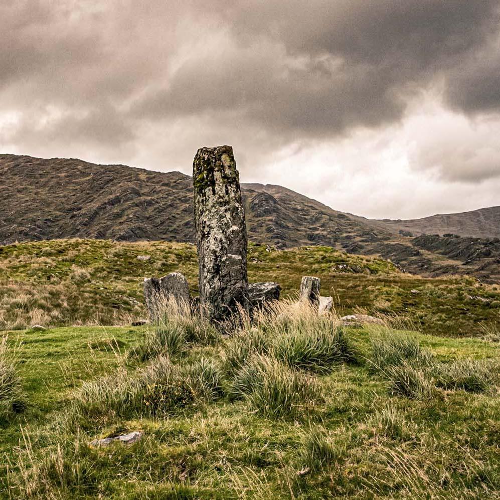 Steinkreis in Irland